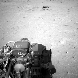 Nasa's Mars rover Curiosity acquired this image using its Left Navigation Camera on Sol 409, at drive 312, site number 17