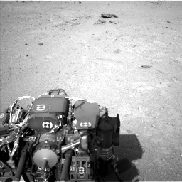 Nasa's Mars rover Curiosity acquired this image using its Left Navigation Camera on Sol 409, at drive 330, site number 17