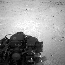 Nasa's Mars rover Curiosity acquired this image using its Left Navigation Camera on Sol 409, at drive 456, site number 17