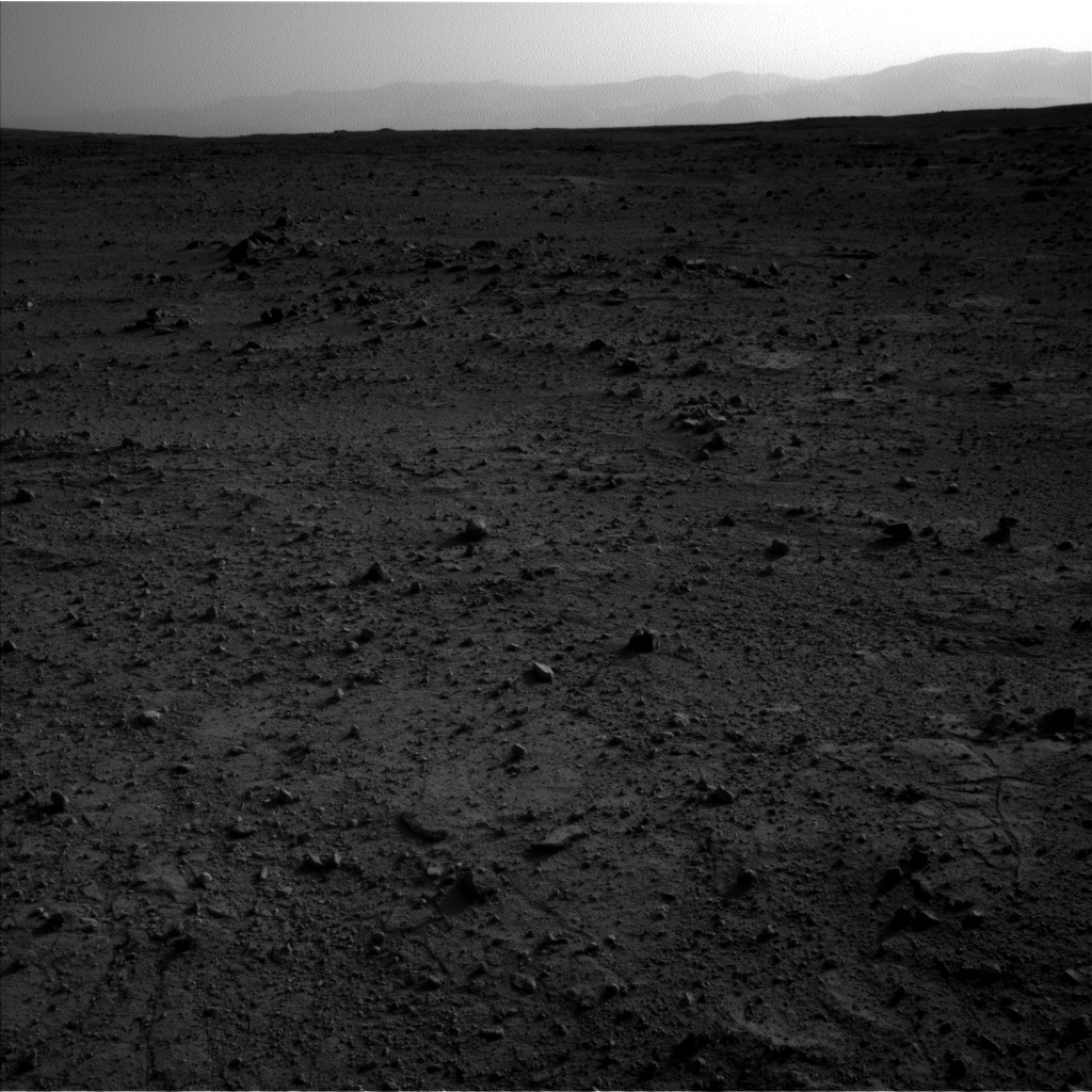 Nasa's Mars rover Curiosity acquired this image using its Left Navigation Camera on Sol 409, at drive 676, site number 17