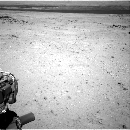 Nasa's Mars rover Curiosity acquired this image using its Right Navigation Camera on Sol 409, at drive 114, site number 17