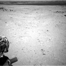 Nasa's Mars rover Curiosity acquired this image using its Right Navigation Camera on Sol 409, at drive 132, site number 17