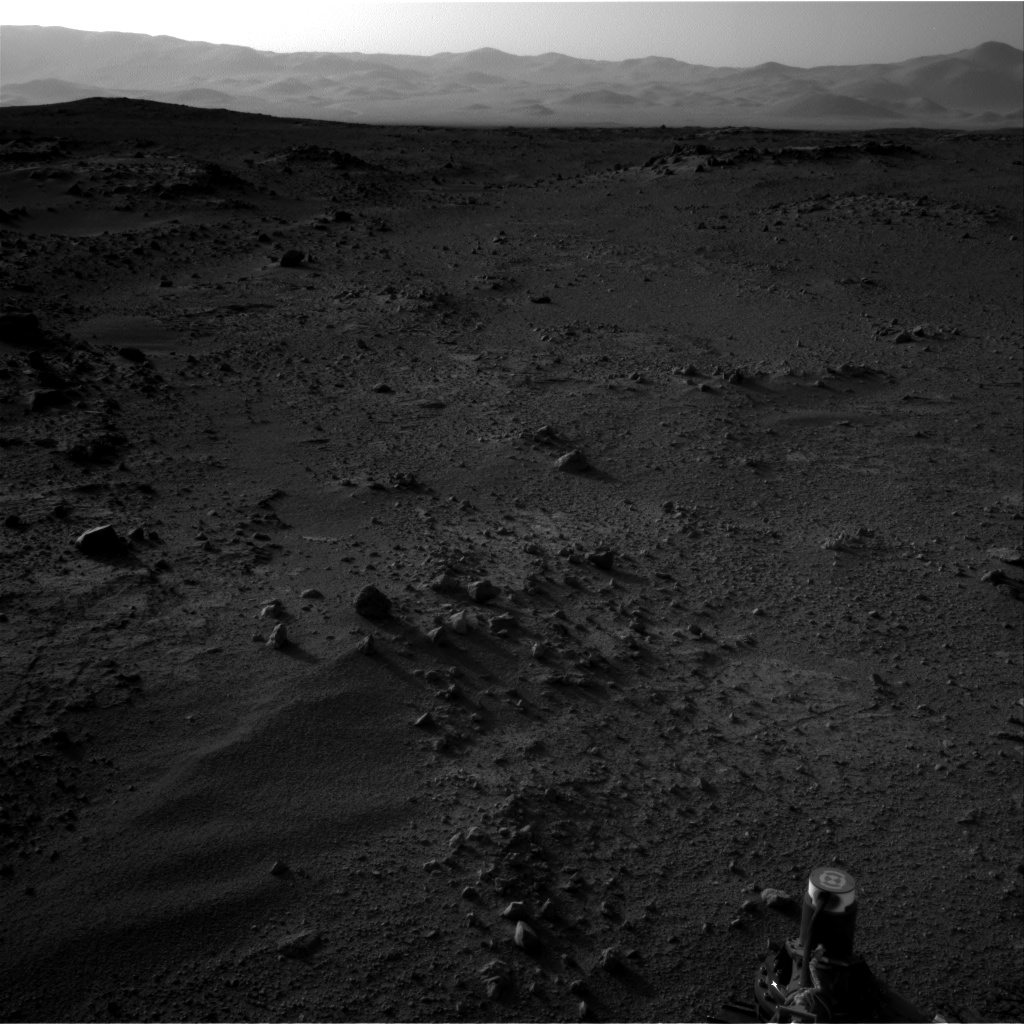 Nasa's Mars rover Curiosity acquired this image using its Right Navigation Camera on Sol 409, at drive 676, site number 17