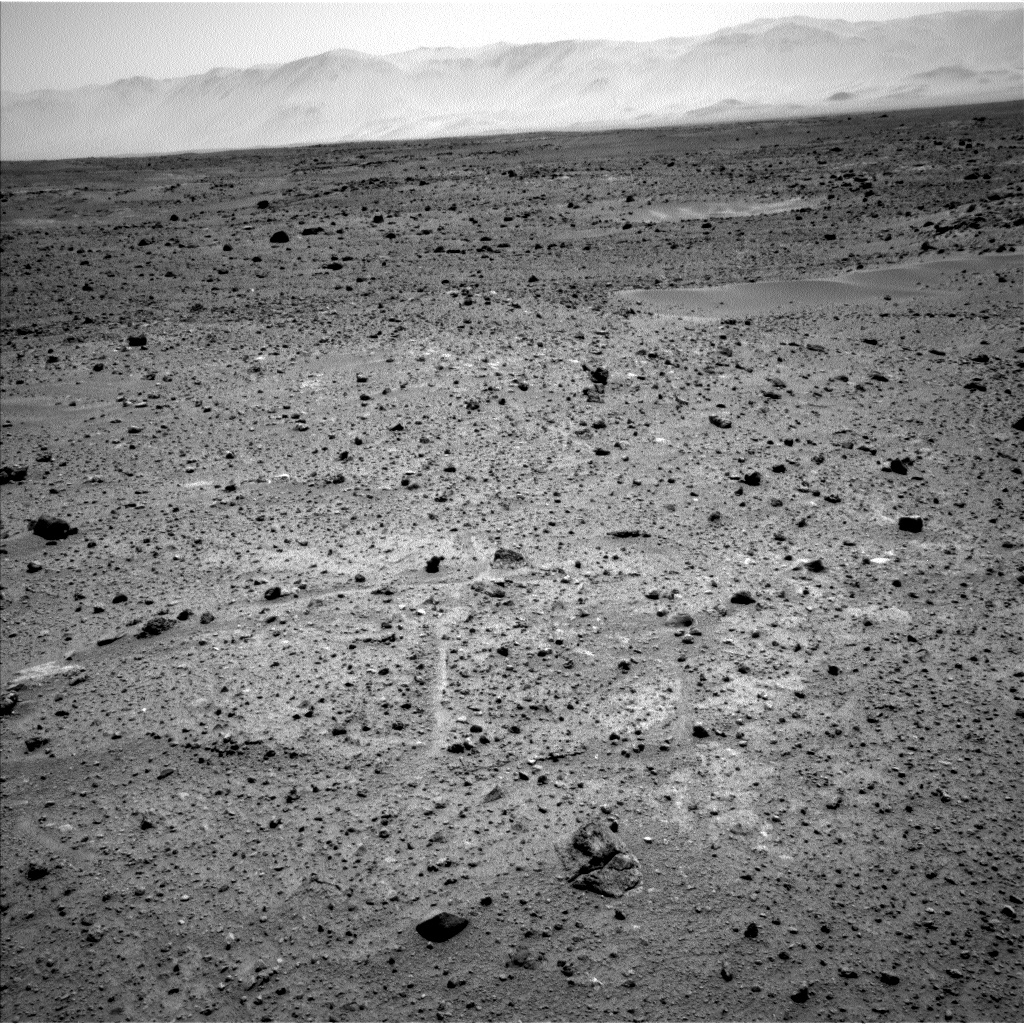 Nasa's Mars rover Curiosity acquired this image using its Left Navigation Camera on Sol 410, at drive 820, site number 17