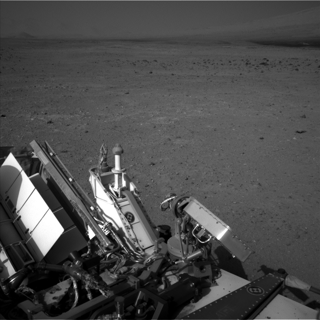NASA's Mars rover Curiosity acquired this image using its Left Navigation Camera (Navcams) on Sol 410