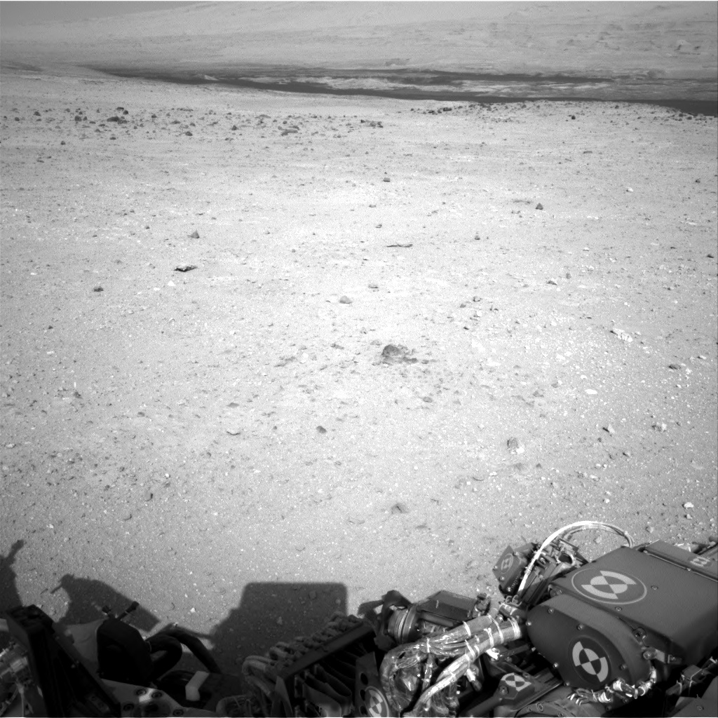 Nasa's Mars rover Curiosity acquired this image using its Right Navigation Camera on Sol 410, at drive 820, site number 17