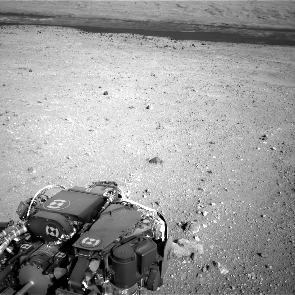 NASA's Mars rover Curiosity acquired this image using its Right Navigation Cameras (Navcams) on Sol 410