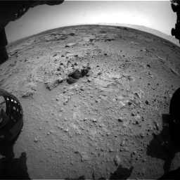 Nasa's Mars rover Curiosity acquired this image using its Front Hazard Avoidance Camera (Front Hazcam) on Sol 412, at drive 1294, site number 17