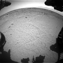 Nasa's Mars rover Curiosity acquired this image using its Front Hazard Avoidance Camera (Front Hazcam) on Sol 412, at drive 1138, site number 17