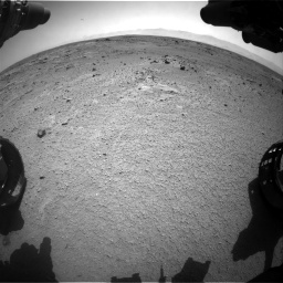 Nasa's Mars rover Curiosity acquired this image using its Front Hazard Avoidance Camera (Front Hazcam) on Sol 412, at drive 1156, site number 17