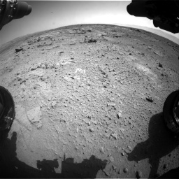 Nasa's Mars rover Curiosity acquired this image using its Front Hazard Avoidance Camera (Front Hazcam) on Sol 412, at drive 1264, site number 17