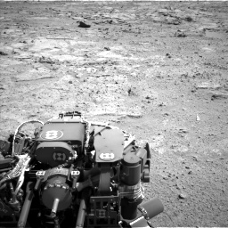 Nasa's Mars rover Curiosity acquired this image using its Left Navigation Camera on Sol 412, at drive 1156, site number 17