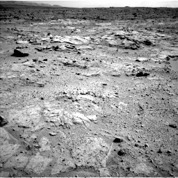 Nasa's Mars rover Curiosity acquired this image using its Left Navigation Camera on Sol 412, at drive 1228, site number 17