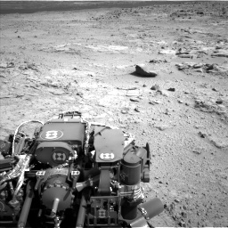 NASA's Mars rover Curiosity acquired this image using its Left Navigation Camera (Navcams) on Sol 412