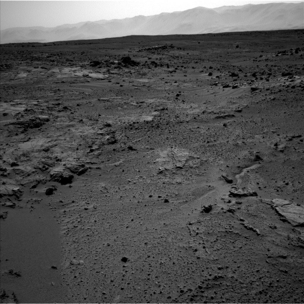 Nasa's Mars rover Curiosity acquired this image using its Left Navigation Camera on Sol 412, at drive 0, site number 18
