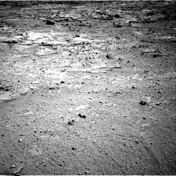 NASA's Mars rover Curiosity acquired this image using its Right Navigation Cameras (Navcams) on Sol 412