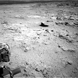 Nasa's Mars rover Curiosity acquired this image using its Right Navigation Camera on Sol 412, at drive 1264, site number 17