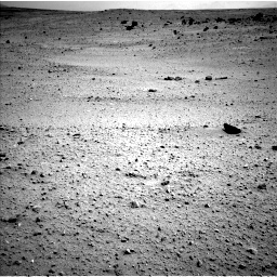 Nasa's Mars rover Curiosity acquired this image using its Left Navigation Camera on Sol 413, at drive 222, site number 18