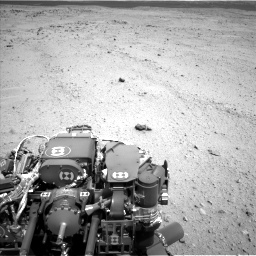 Nasa's Mars rover Curiosity acquired this image using its Left Navigation Camera on Sol 413, at drive 258, site number 18