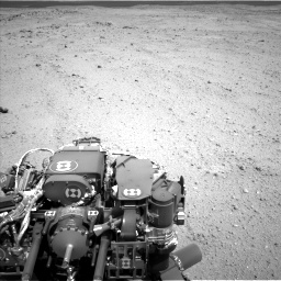 Nasa's Mars rover Curiosity acquired this image using its Left Navigation Camera on Sol 413, at drive 294, site number 18