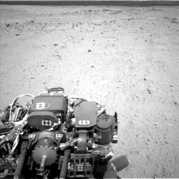 Nasa's Mars rover Curiosity acquired this image using its Left Navigation Camera on Sol 413, at drive 348, site number 18