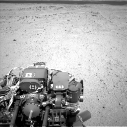 Nasa's Mars rover Curiosity acquired this image using its Left Navigation Camera on Sol 413, at drive 378, site number 18