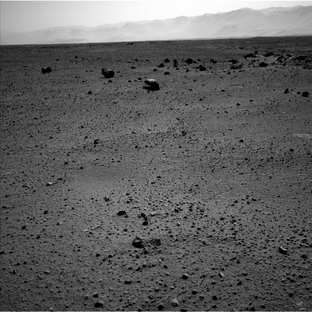 Nasa's Mars rover Curiosity acquired this image using its Left Navigation Camera on Sol 413, at drive 422, site number 18