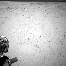 NASA's Mars rover Curiosity acquired this image using its Right Navigation Cameras (Navcams) on Sol 413