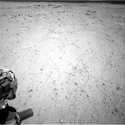 Nasa's Mars rover Curiosity acquired this image using its Right Navigation Camera on Sol 413, at drive 384, site number 18