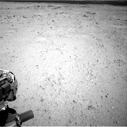 Nasa's Mars rover Curiosity acquired this image using its Right Navigation Camera on Sol 413, at drive 390, site number 18