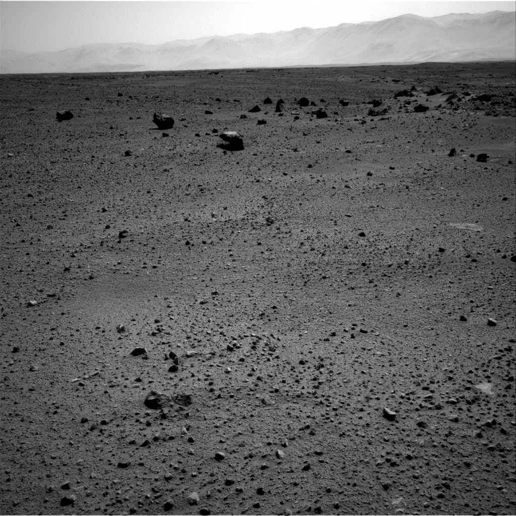 Nasa's Mars rover Curiosity acquired this image using its Right Navigation Camera on Sol 413, at drive 422, site number 18