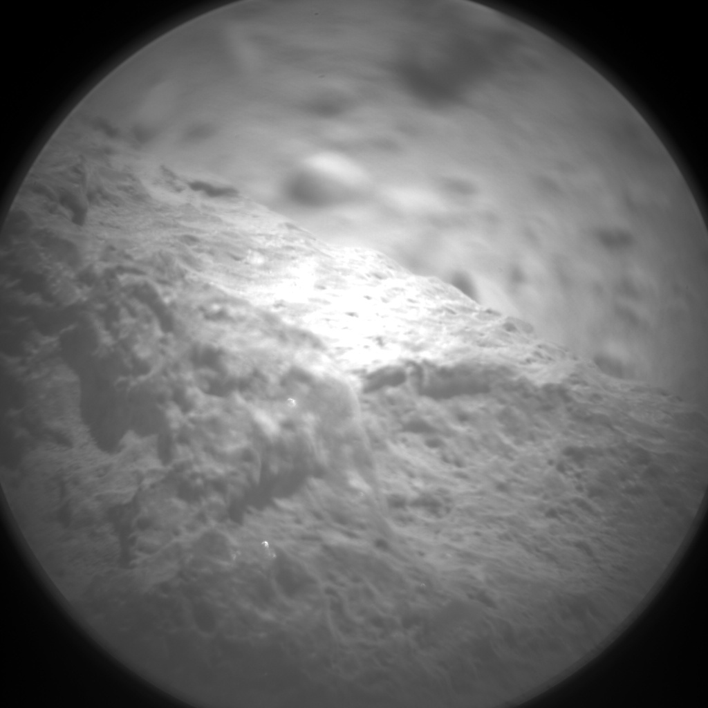 Nasa's Mars rover Curiosity acquired this image using its Chemistry & Camera (ChemCam) on Sol 416, at drive 422, site number 18