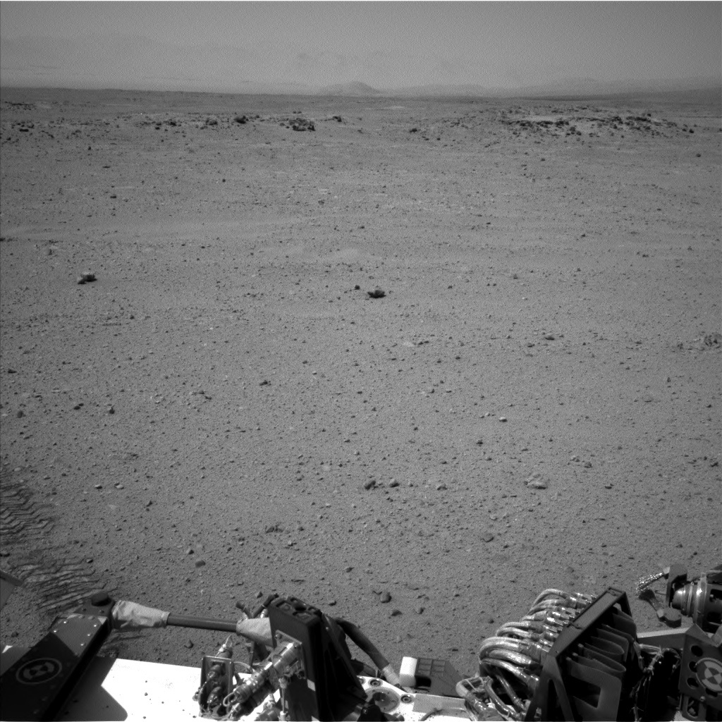 NASA's Mars rover Curiosity acquired this image using its Left Navigation Camera (Navcams) on Sol 416