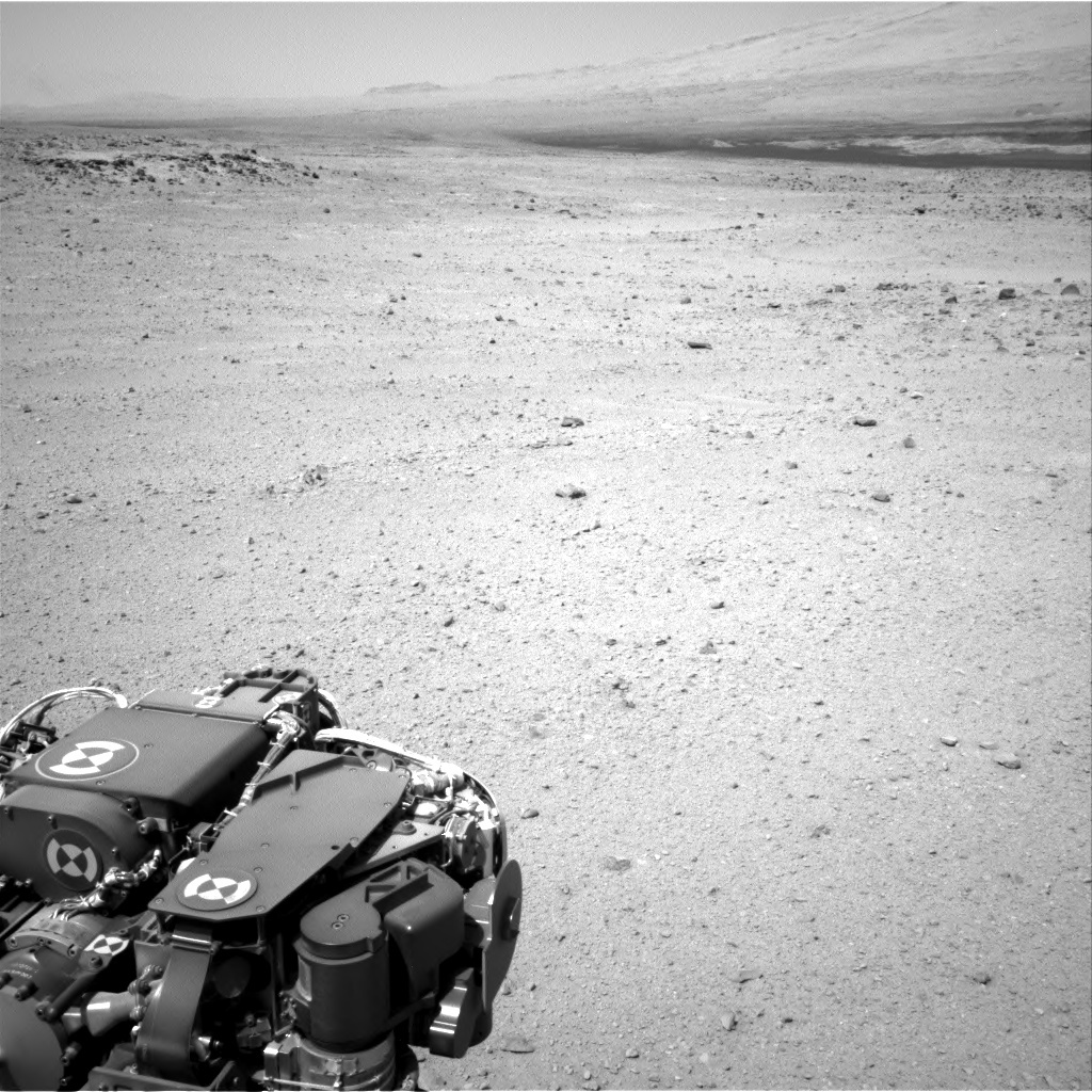 NASA's Mars rover Curiosity acquired this image using its Right Navigation Cameras (Navcams) on Sol 416