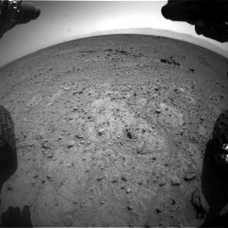 Nasa's Mars rover Curiosity acquired this image using its Front Hazard Avoidance Camera (Front Hazcam) on Sol 417, at drive 746, site number 18