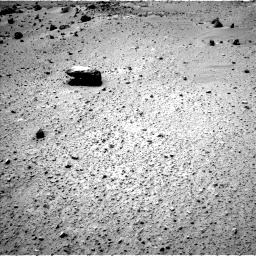 Nasa's Mars rover Curiosity acquired this image using its Left Navigation Camera on Sol 417, at drive 506, site number 18