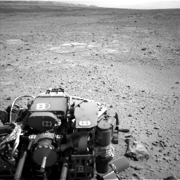 NASA's Mars rover Curiosity acquired this image using its Left Navigation Camera (Navcams) on Sol 417