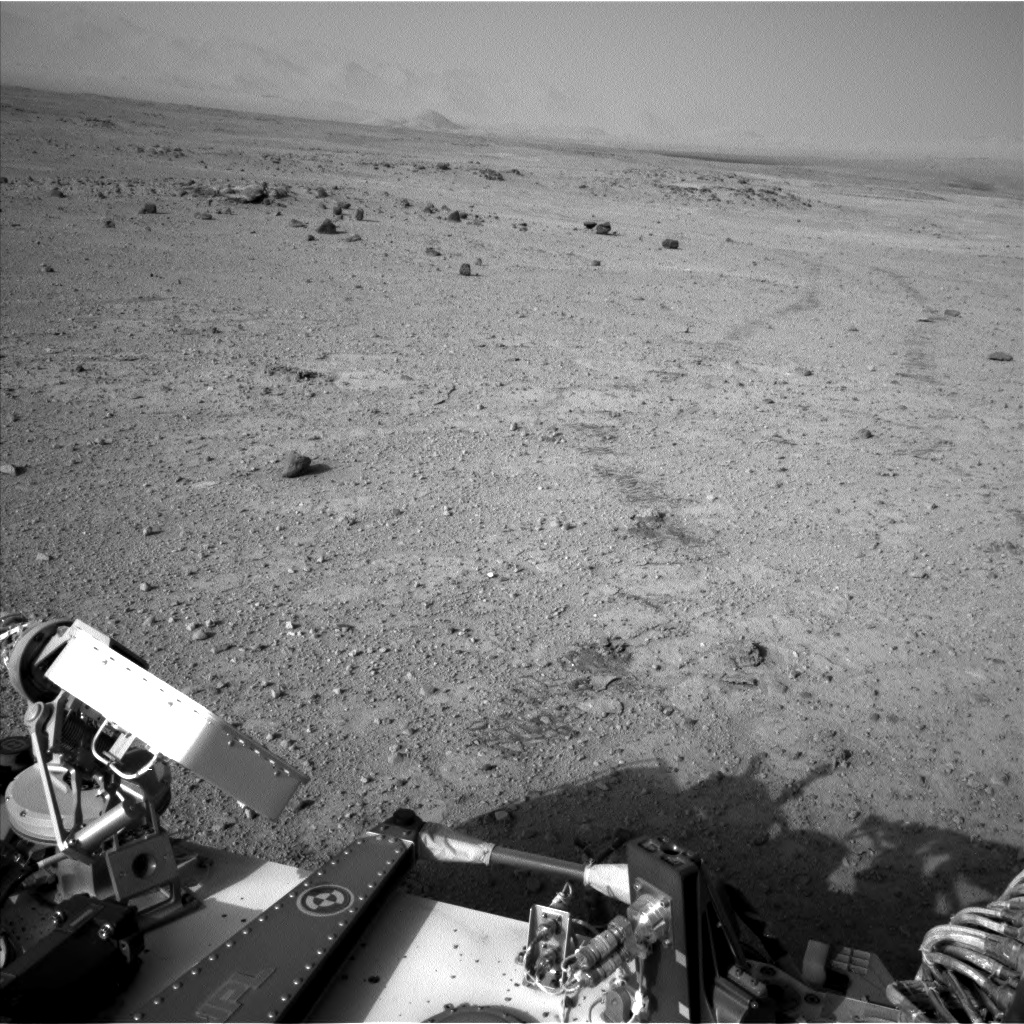 Nasa's Mars rover Curiosity acquired this image using its Left Navigation Camera on Sol 417, at drive 786, site number 18