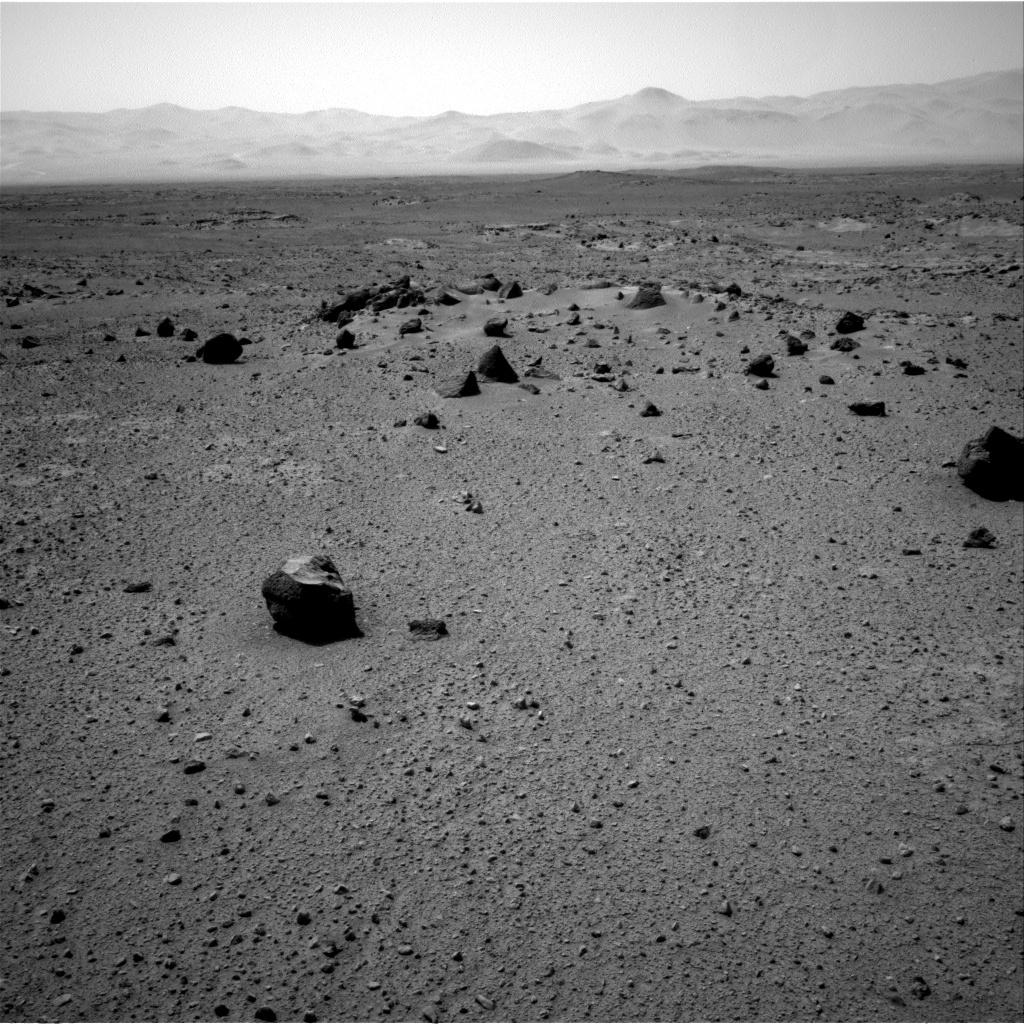Nasa's Mars rover Curiosity acquired this image using its Right Navigation Camera on Sol 417, at drive 578, site number 18