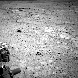 Nasa's Mars rover Curiosity acquired this image using its Right Navigation Camera on Sol 417, at drive 686, site number 18