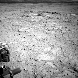 Nasa's Mars rover Curiosity acquired this image using its Right Navigation Camera on Sol 417, at drive 722, site number 18