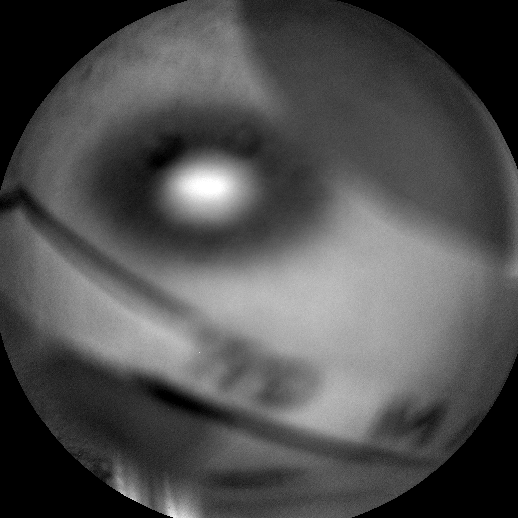 Nasa's Mars rover Curiosity acquired this image using its Chemistry & Camera (ChemCam) on Sol 418, at drive 786, site number 18