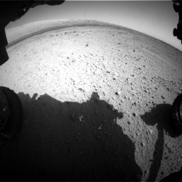 Nasa's Mars rover Curiosity acquired this image using its Front Hazard Avoidance Camera (Front Hazcam) on Sol 419, at drive 1260, site number 18