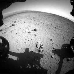 Nasa's Mars rover Curiosity acquired this image using its Front Hazard Avoidance Camera (Front Hazcam) on Sol 419, at drive 1368, site number 18