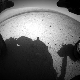 Nasa's Mars rover Curiosity acquired this image using its Front Hazard Avoidance Camera (Front Hazcam) on Sol 419, at drive 1278, site number 18