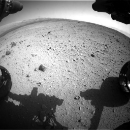 NASA's Mars rover Curiosity acquired this image using its Front Hazard Avoidance Cameras (Front Hazcams) on Sol 419