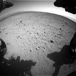 Nasa's Mars rover Curiosity acquired this image using its Front Hazard Avoidance Camera (Front Hazcam) on Sol 419, at drive 1380, site number 18