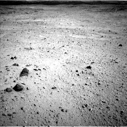 Nasa's Mars rover Curiosity acquired this image using its Left Navigation Camera on Sol 419, at drive 1362, site number 18