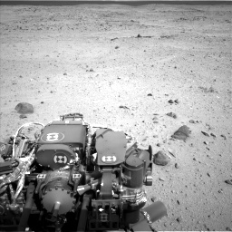 Nasa's Mars rover Curiosity acquired this image using its Left Navigation Camera on Sol 419, at drive 1368, site number 18