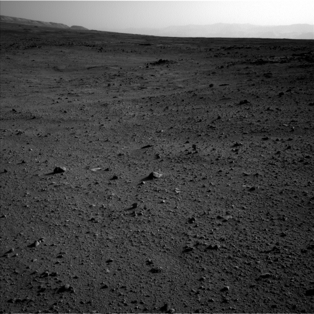Nasa's Mars rover Curiosity acquired this image using its Left Navigation Camera on Sol 419, at drive 0, site number 19